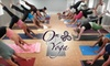 Om On Yoga - Three Chopt: $27 for Three Yoga Classes at Om On Yoga (Up to a $51 Value)
