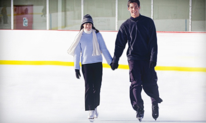 The Rink Exchange at Lane County Ice Arena - Multiple Locations: Ice-Skating Outing for Two, Four, or Six People at The Rink Exchange at Lane County Ice Arena