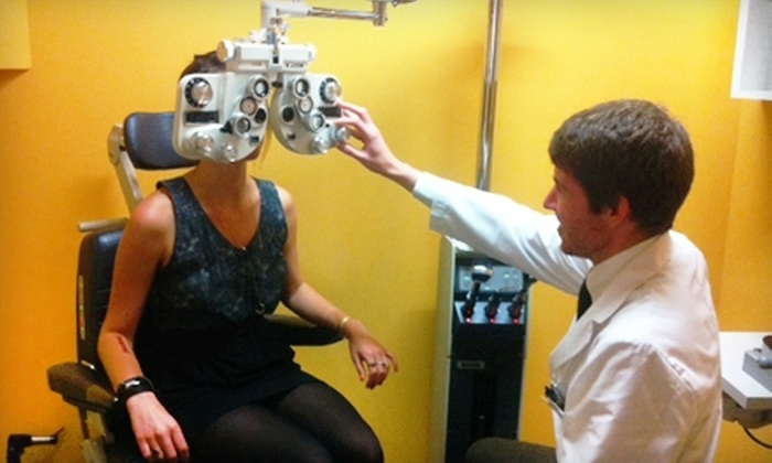 The EyeSite - The Eyesite, an Optometric Group: $75 for an Eye Exam and $200 Toward Glasses at The Eyesite in Brentwood ($415 Value)