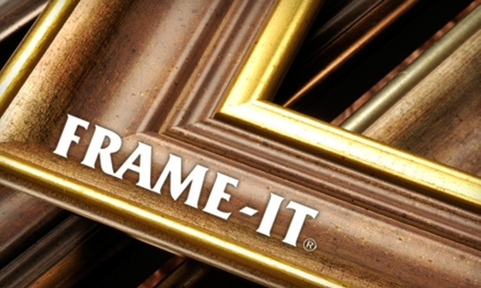 Frame-It - Multiple Locations: $25 for $50 Worth of Custom Framing, Artwork, and Gifts at Frame-It