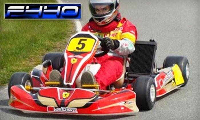 F440 Racing Challenge - Tsawwassen: $19 for 20 Minutes of Go-Karting at F440 Racing Challenge