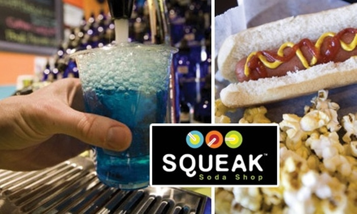 null - Northeast Colorado Springs: $6 for $10 Worth of Soda, Candy, Ice Cream, and More, Plus $5 Credit for a Future Visit at Squeak Soda Shop