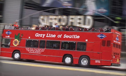 2-Day Pass for Unlimited Double-Decker Bus Tours for 1 in May or June - Gray Line Of Seattle in