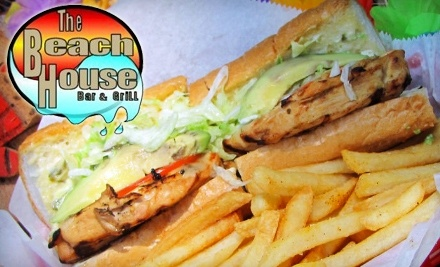 $20 Groupon to The Beach House Bar & Grill - The Beach House Bar & Grill in Mandeville