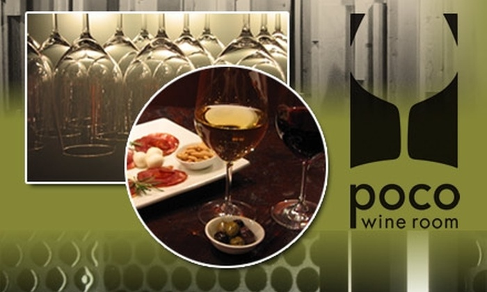 Poco Wine Room - Broadway: $50 Worth of Wine and More at Poco Wine Room