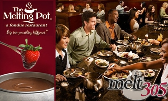 The Melting Pot - Multiple Locations: $20 for $40 Worth of Fondue and Drinks at The Melting Pot