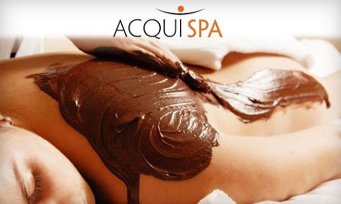 Acqui Spa - Fort Myers: $59 for a Chocolate Wine Body Wrap or an Orangesicle Cocktail Facial at Acqui Spa (Up to a $145 Value)