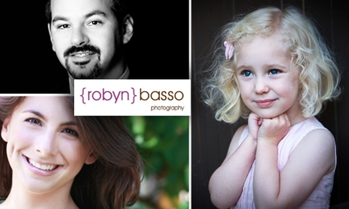 Robyn Basso Photography - Oak Knoll - Redwood Park: $150 for Photography Session & Package from Robyn Basso Photography (Up to $300 Value)