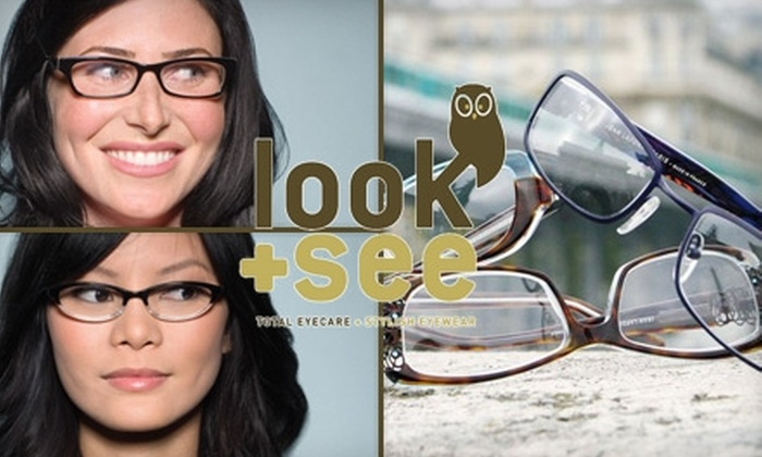 Look + See Eye Care - Marcy-Holmes: $50 for $100 Worth of Frames from Look + See Eye Care
