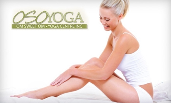 Oso Yoga - Southcrest: $20 For Body Sugar Hair Removal at Oso Yoga ($40 Value)