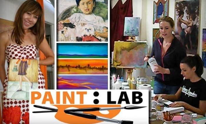 Paint Lab - Ocean Park: $24 for a Two-Hour Painting or Drawing Lesson from Paint Lab ($48 Value)