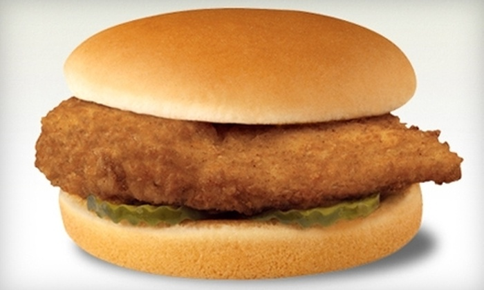 Chick-fil-A - Virginia Beach: $3 for Two Original Chicken Sandwiches at Chick-fil-A in the Lynnhaven Mall Food Court ($5.90 Value)