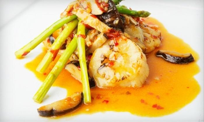 Mitsuba Hibachi Steakhouse & Asian Bistro - New Hartford: $15 for $30 Worth of Japanese Cuisine at Mitsuba Hibachi Steakhouse & Asian Bistro