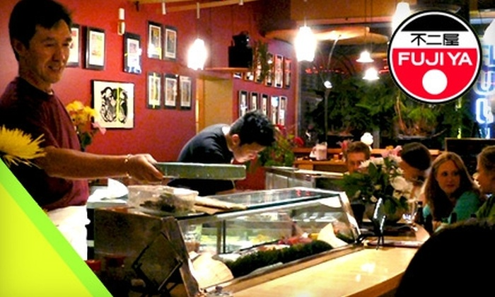 Fuji Ya - Multiple Locations: $25 for $50 Worth of Sushi and Drinks at Fuji Ya. Choose from Two Locations.