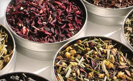 Hot-Tea Package for Two (up to a $20.90 total value) - TeaBuds Brewing Co. in Carmel