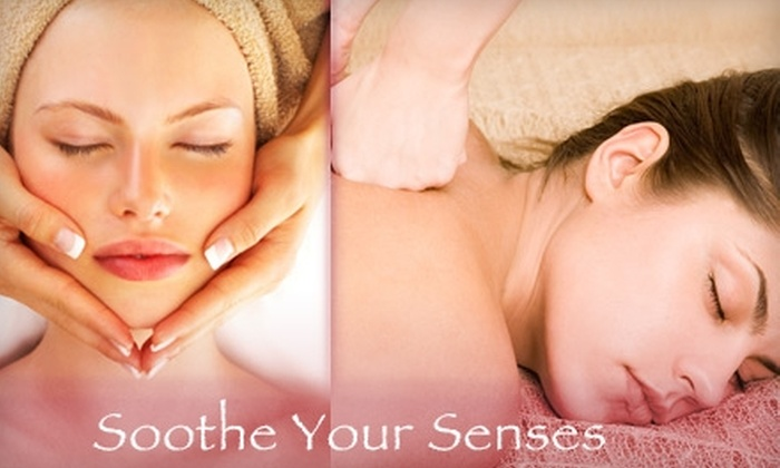 Soothe Your Senses - Multiple Locations: $99 for a Spa Package from Soothe Your Senses Day Spa ($180 Value)