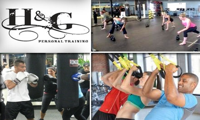 H&G Personal Training - Charlotte: $20 for a Personal Training Session at H&G Personal Training ($50 Value)