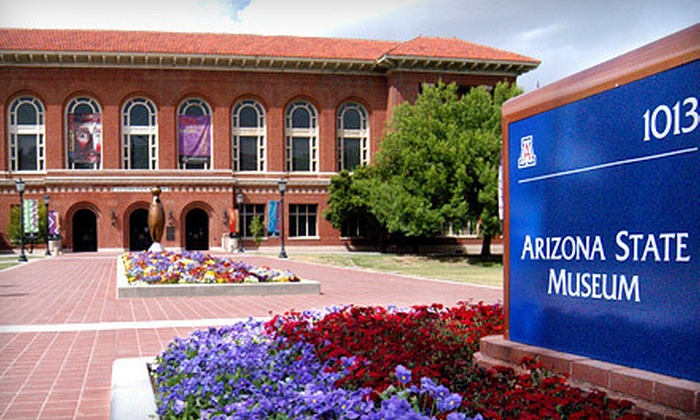 Arizona State Museum on the University of Arizona campus - Ward 6: Visit for Two, Four, or Six to the Arizona State Museum on the University of Arizona Campus (Up to 57% Off)