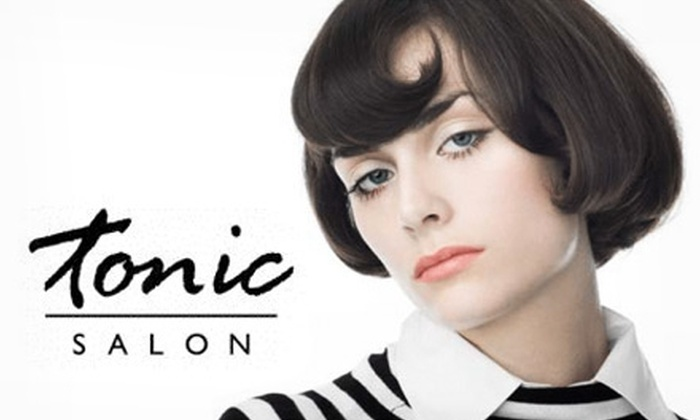 Tonic Salon - Multiple Locations: $25 for a Cut and Choice of Deep-Conditioning Treatment or Color Gloss at Tonic Salon ($95 Value)