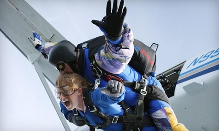 Start Skydiving - Middletown: $119 for Tandem Jump from Start Skydiving in Middletown (Up to $259 Value)