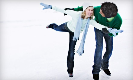 Ice-Skating Outing for 1 Adult or Child, Includes Admission and Skate Rental - Palos Verdes Ice Chalet in Rolling Hills Estates