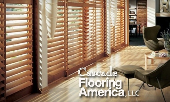 Cascade Flooring America - Pleasant Valley: $50 for $115 Worth of Hunter Douglas Window Coverings at Cascade Flooring America in Vancouver