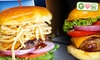 Indulge Burgers & More - Scottsdale: $15 for $30 Worth of Build-Your-Own Burgers and Drinks at Indulge Burgers & More in Scottsdale