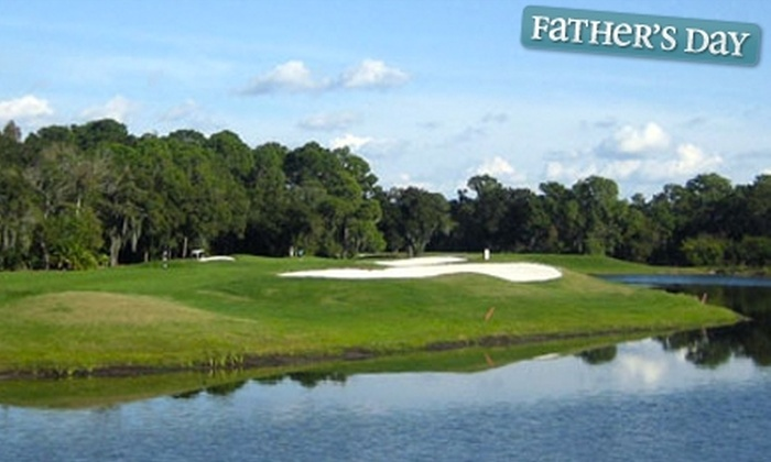 Red Wolf Golf Resort - Houston: $17 for 18 Holes of Golf, Cart Rental, and a Bucket of Driving-Range Balls at Red Wolf Golf Resort in Huffman (Up to $39 Value)