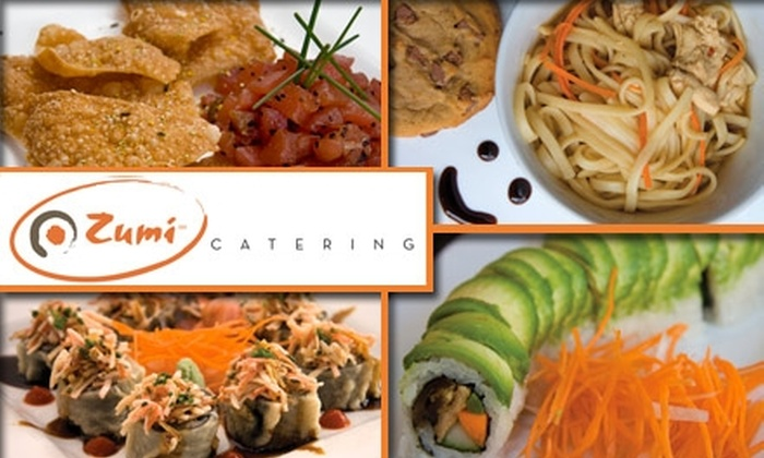 Zumi Sushi Japanese Kitchen - Hillsboro West End: $50 for $100 Worth of Catering Services from Zumi Sushi Japanese Kitchen