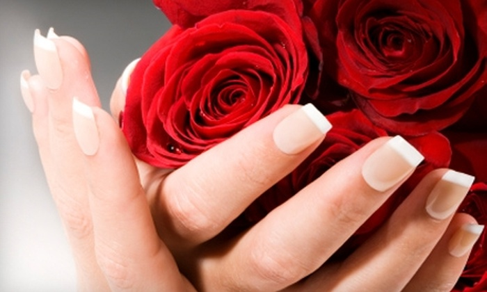 Salon Burget - Lenexa: $21 for a Shellac Nail Treatment (Up to $42 Value) or $39 for an Image Signature Facial ($78 Value) at Salon Burget in Lenexa