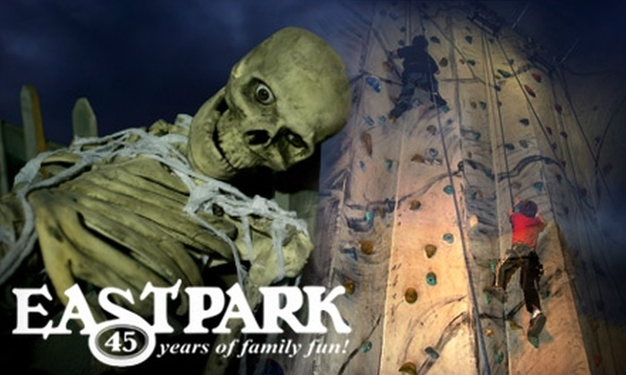 East Park Golf Gardens - Hamilton Road: $22 for Two Unlimited Passes to the Intencity Halloween Event on Oct. 29 at East Park ($45.20 Value)