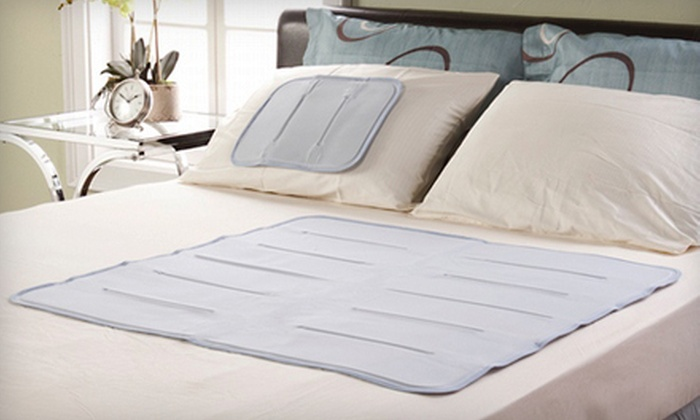 Cooling Sleep Gel Pad: Cool Gel Solutions Coolerest Sleep Pad in Small/Pillow, Medium/Twin, or Extra-Large/Queen Size (Up to 55% Off)