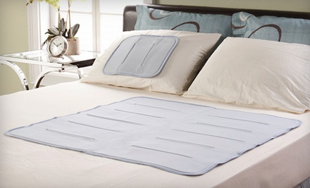 Cool Gel Solutions Coolerest Sleep Pad: Small/Pillow (a $50 value) - Cooling Sleep Gel Pad in