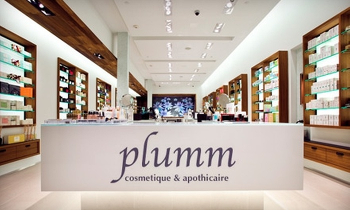 Plumm Shoppes - Manhasset: $32 for $75 Worth of Products and Spa Services at Plumm Shoppes