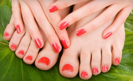 Ultimate Spa Mani-Pedi from Amanda or Cindy (an $80 value) - Amanda Reinhart & Cindy Jorgensen at jmz Spa-lon in Boise