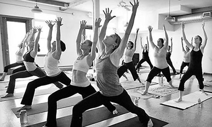 Tadasana Yoga Studio - Summit Park: $49 for One Month of Unlimited Hot Yoga at Tadasana Yoga Studio in Park City ($150 Value)