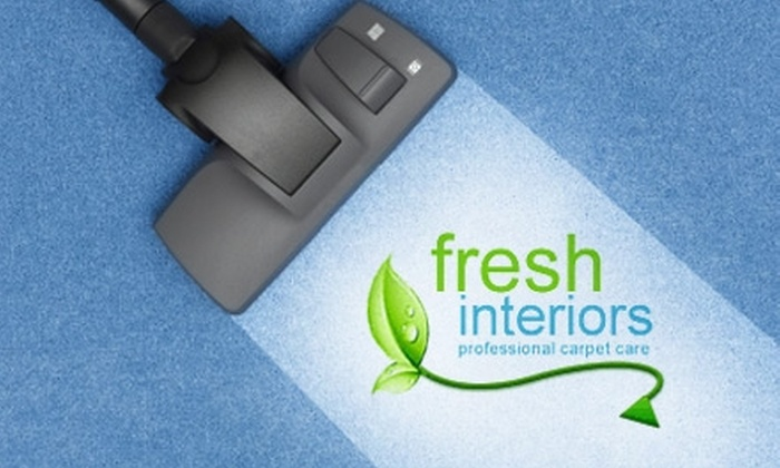 Fresh Interiors - Downtown Toronto: $35 for $75 Worth of Deep Carpet and Upholstery Cleaning from Fresh Interiors