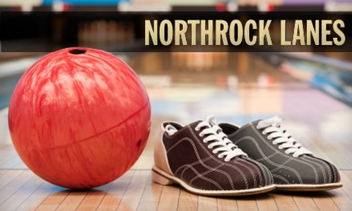 Northrock Lanes - Wichita: $8 for Three Games, Shoe Rental, and a Large Soda at Northrock Lanes ($17.47 Value)