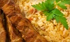 Casbah Moroccan Restaurant - Downtown Savannah: $12 for $25 Worth of Moroccan Cuisine at Casbah