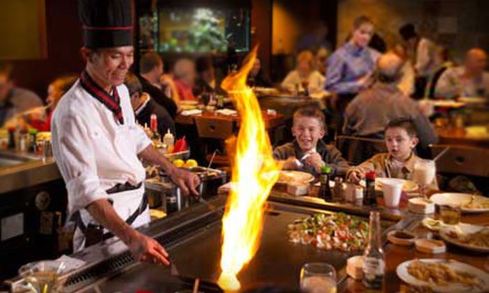 Nagoya Japanese Steakhouse & Sushi - Multiple Locations: $25 for $50 Worth of Japanese Dinner Fare at Nagoya Japanese Steakhouse & Sushi