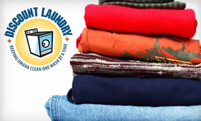 Discount Laundry - Multiple Locations: $25 for Two Laundry Pick-Up and Delivery Services at Discount Laundry (a $57.50 Value)