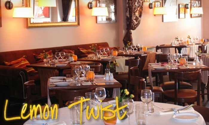 Lemon Twist - Isle Of Normandy Ocean Side: $20 for $40 Worth of French Cuisine and Wine at Lemon Twist