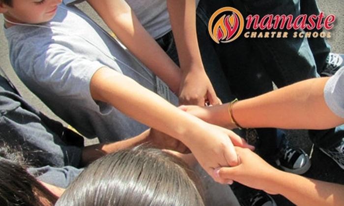 Namaste Charter School: Donate $15 to Jump-start an After-School Teen Center at Namaste Charter School