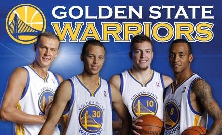Half Off Warriors Ticket Golden State Warriors Groupon