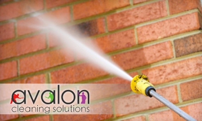 Avalon Cleaning Solutions - Downtown: $125 for $300 Worth of Pressure Washing from Avalon Cleaning Solutions