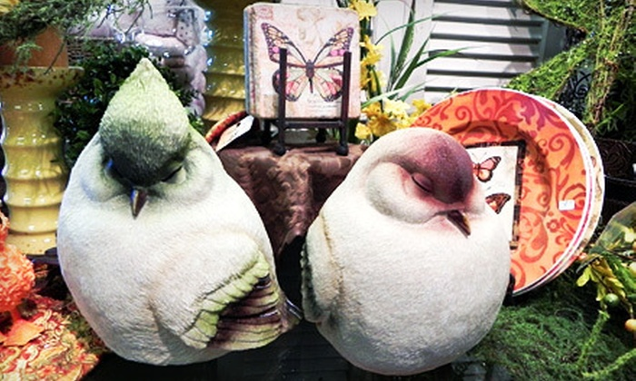 Blackberries - West Salem: Home Decor, Jewelry, and Baby Gifts at Blackberries (Up to 55% Off). Two Options Available.