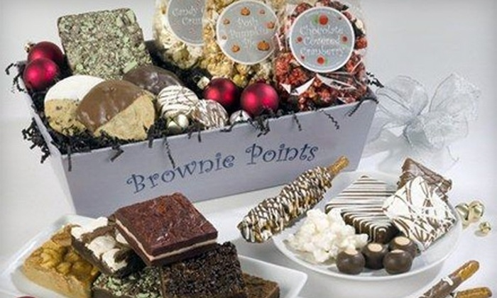 Brownie Points Inc - East Broad: $18 for $36 Worth of Gourmet Treats at Brownie Points