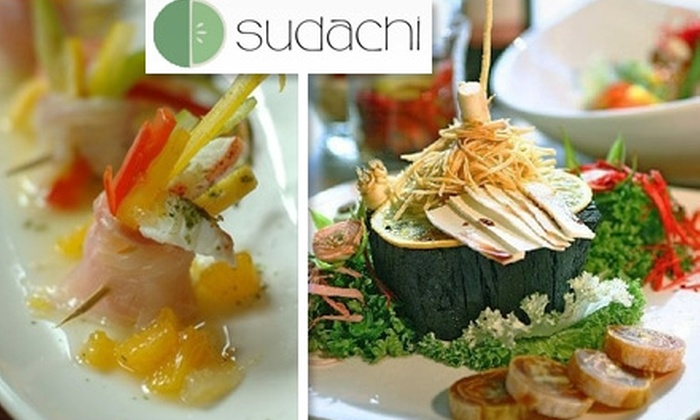 Sudachi Sushi - San Francisco: $20 for $40 Worth of Japanese and Korean Cuisine and Drinks at Sudachi Sushi