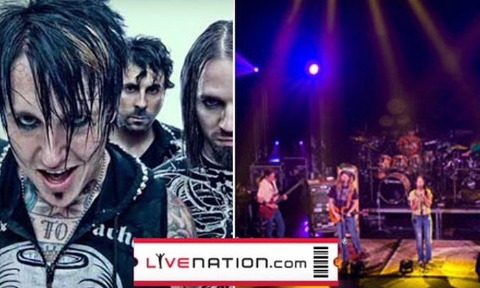 Live Nation Denver - Uptown: Two Tickets to Papa Roach/Skillet or Dark Star Orchestra at the Fillmore Auditorium. Choose from Two Options.