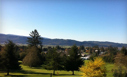 9 Holes of Golf for 2 and 1 Bucket of Range Balls (a $23 value) - Skyline Golf Course in Cathlamet